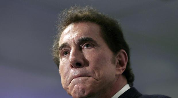 Casino mogul Steve Wynn has resigned his place on the company board (Charles Krupa/AP)