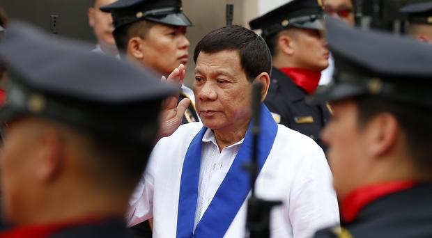 Philippine President Rodrigo Duterte has cracked down on drug crime (Bullit Marquez/AP)