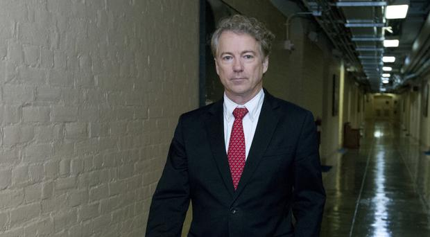 Senator Rand Paul had sought to block the budget (AP)