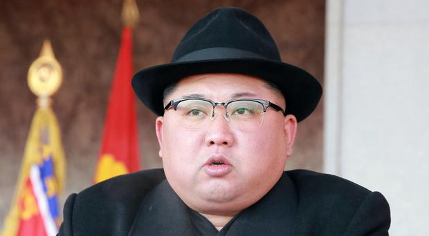 North Korean leader Kim Jong Un (Korean Central News Agency/AP)