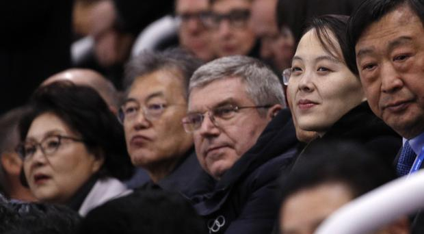 IOC president Thomas Bach hailed the body's efforts to bring the Koreas together (AP)