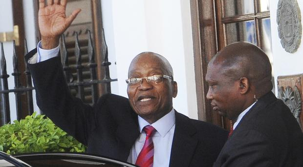 South African President Jacob Zuma has faced a number of corruption allegations (AP)