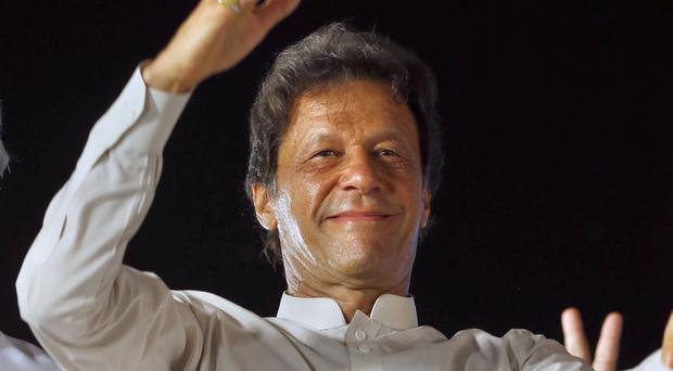 Imran Khan has married a faith healer (AP)
