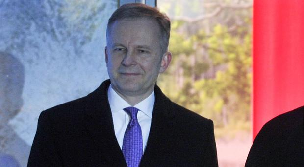 The governor of the Bank of Latvia Ilmars Rimsevics has not yet been charged (AP)