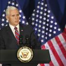 Mike Pence was ready to meet with representatives from North Korea (Bob Owen/AP)