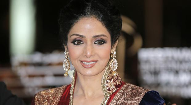 Sridevi, Bollywood's leading lady of the 1980s and '90s who redefined stardom for actresses in India, has died at age 54 (Lionel Cironneau/AP)