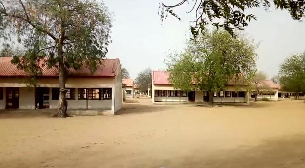 The incident took place at the Government Girls Science and Tech College in Dapchi, Yobe State (AP)