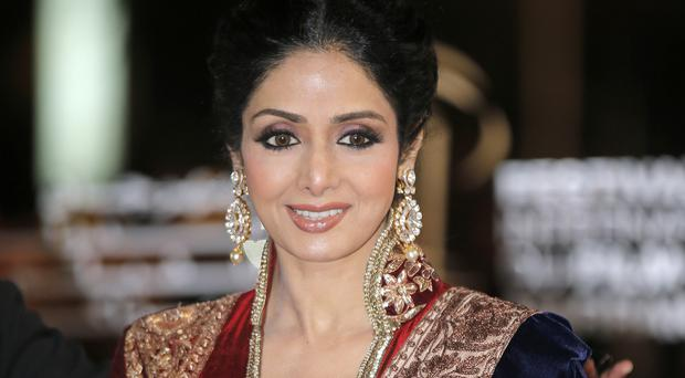 Indian actress Sridevi was arguably the first female superstar in India's male-dominated film industry (AP)