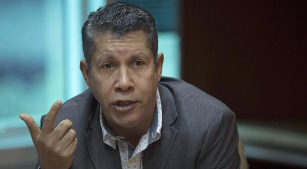 Henri Falcon is thought to be preparing to challenge Nicolas Maduro (AP Photo/Ariana Cubillos, File)