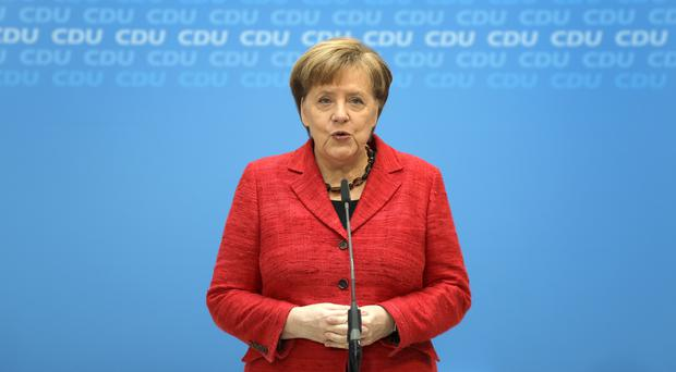 German Chancellor Angela Merkel (Michael Sohn/AP)
