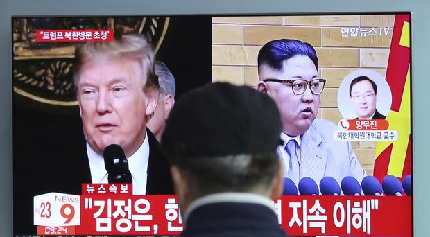 Donald Trump says he believes North Korea will honour a commitment to suspend missile tests (AP)