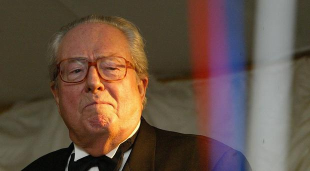 Jean-Marie Le Pen's position of party president for life has been abolished (Martin Rickett/PA)