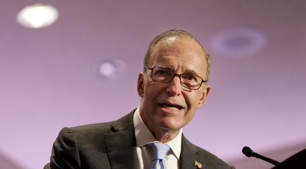 Larry Kudlow spent 15 years as a fixture on CNBC (AP Photo/Seth Wenig, File)