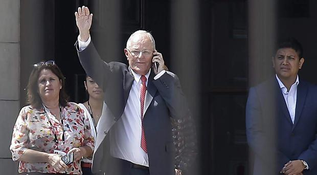 Pedro Pablo Kuczynski is being probed for some 782,000 US dollars in payments (Martin Mejia/PA)