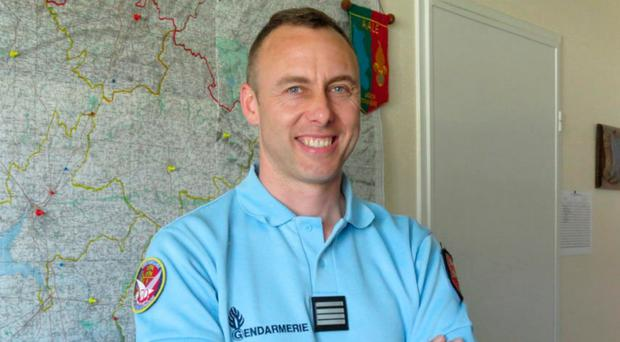 French Lieutenant Colonel Arnaud Beltrame