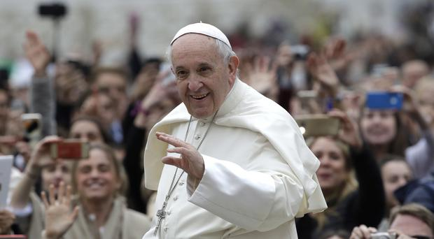 Pope Francis said he will have an operation next year (Alessandra Tarantino/AP)