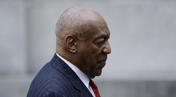 Bill Cosby arrives for a pretrial hearing in his sexual assault case (Matt Slocum/AP)