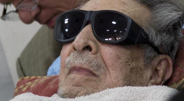 Guatemala's former dictator Efrain Rios Montt who has died aged 91 (Luis Soto/AP)