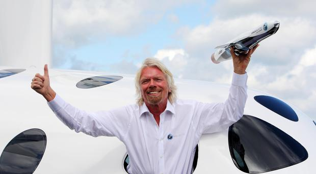 Sir Richard Branson has long planned to conquer space (Steve Parsons/PA)