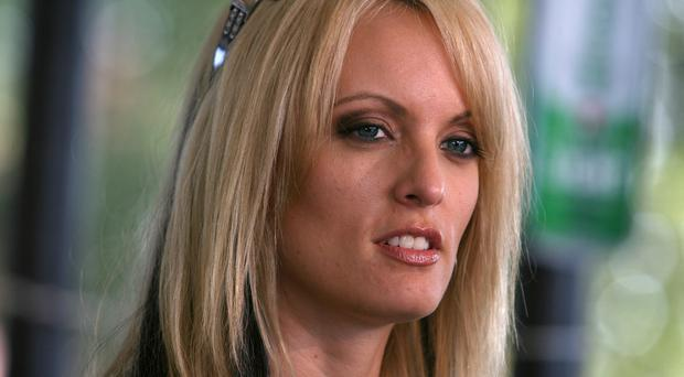 Stormy Daniels claims she had an affair with Donald Trump (Arely D Castillo/AP)
