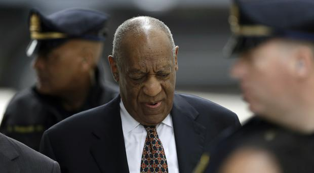 Bill Cosby arrives for his sexual assault trial(AP Photo/Matt Slocum)
