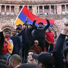 Armenians celebrate in Yerevan