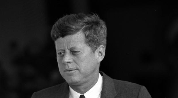 President John F Kennedy was assassinated in 1963 (PA)