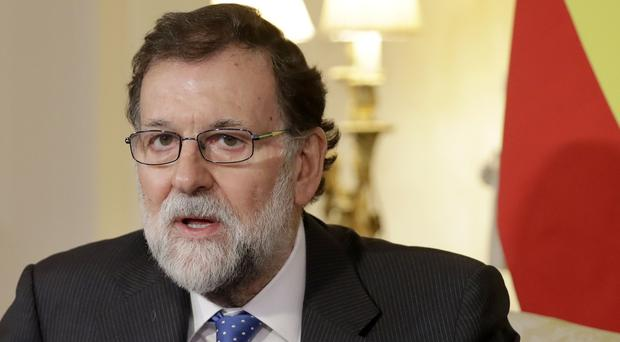Spanish PM Mariano Rajoy has dismissed suggestions ETA is disbanding. (Matt Dunham/PA)