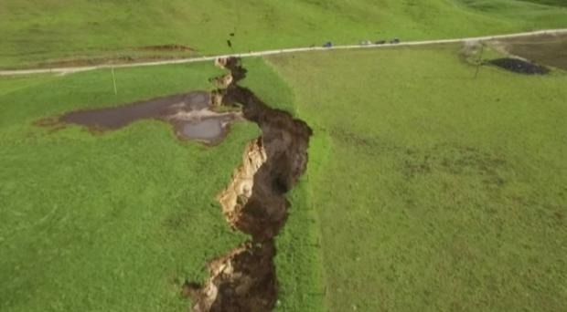 New Zealand Sinkhole