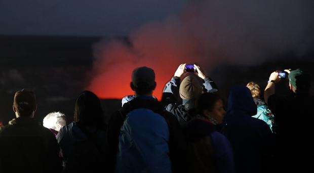 Hawaii volcano threatens power plant; mass evacuations possible