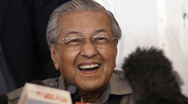 Mahathir Mohamad is 92 years old (Andy Wong/AP)