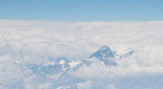 General view of Mount Everest and the Himalayas (Dominic Lipinski/PA)
