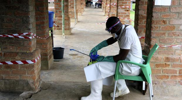 The latest Ebola outbreak has spread to a city of more than one million people (John Bompengo/AP)