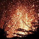 Lava erupts in the Leilani Estates subdivision near Pahoa, Hawaii (Jae C Hong/AP)