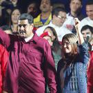 Nicolas Maduro was declared the winner in the Venezuelan election (AP Photo/Ariana Cubillos)