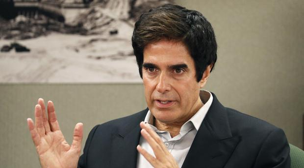 David Copperfield appears in court in Las Vegas (AP Photo/John Locher, File)