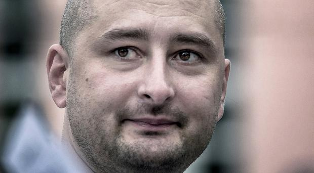 Arkady Babchenko's death was faked by Ukrainian authorities (AP)