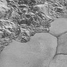 Dunes on Pluto   's Sputnik Planitia ice plain. (Nasa/Johns Hopkins University Applied Physics Laboratory/Southwest Research Institute via AP)