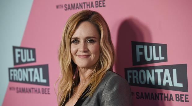 Samantha Bee, host of Full Frontal (AP)