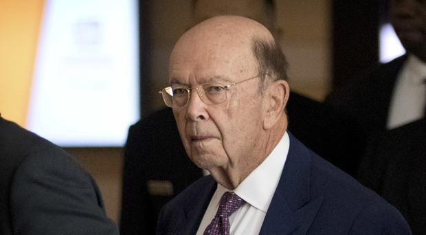 US Commerce Secretary Wilbur Ross (Mark Schiefelbein/AP)