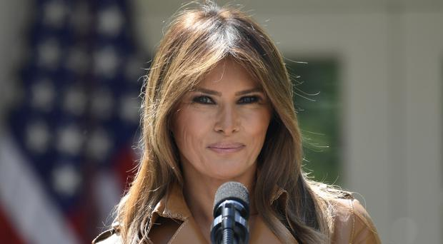 Melania Trump has not made a public appearance since before a five-day hospital stay in mid-May (Susan Walsh/AP)