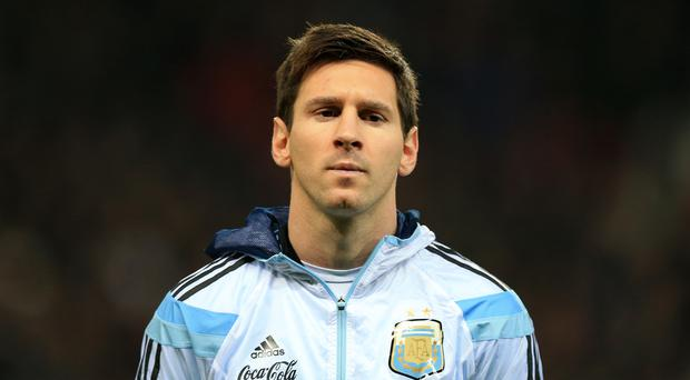 Lionel Messi (Mike Egerton/AP)