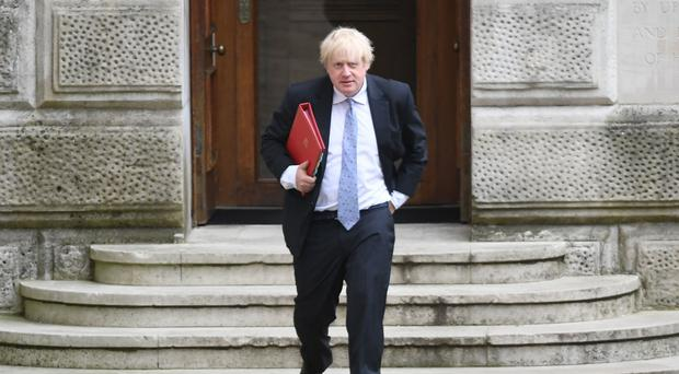 Mr Johnson joined the finance ministers of France and Germany in the call (Stefan Rousseau/PA)