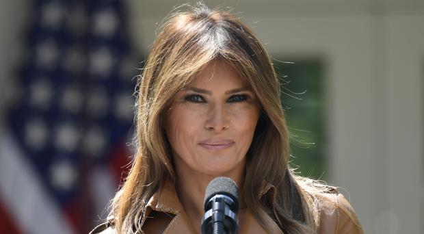 Mrs Trump has not been seen in public since early May (AP)