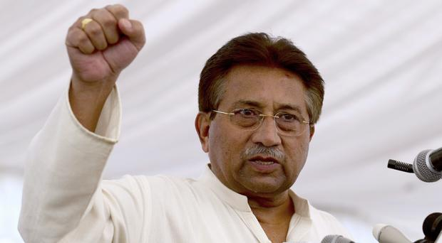 Pakistan's former president and military ruler Pervez Musharraf has announced he will run for a seat in parliament in July 25 national elections (BK Bangash/AP)