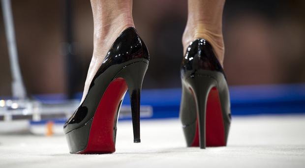 Christian Louboutin shoes (AP Photo/Cliff Owen, FILE)