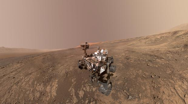 The Curiosity rover has fallen silent (AP)