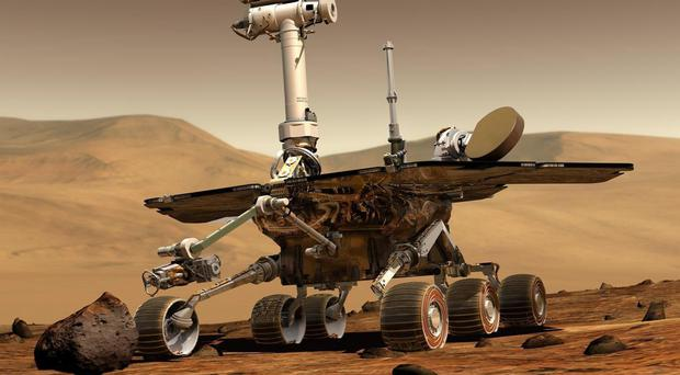 NASA's Mars rover Opportunity (NASA/PA)