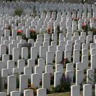 Tyne Cot cemetery at Passchendale (Adam Davy/PA)