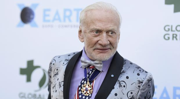 Buzz Aldrin was the second man on the moon (AP)